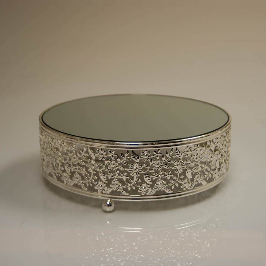 Silver Plate Wedding Cake Stand 5000 Simple Wedding Cakes