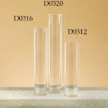"Cylinder Vases 3"" Diameter Mouth"