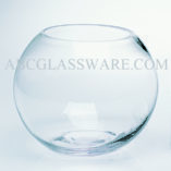 Glass Bubble Bowl