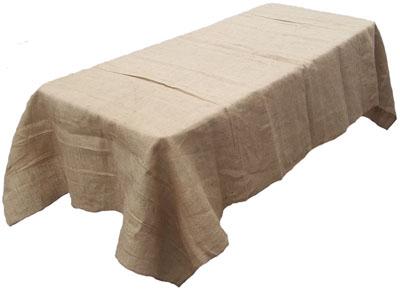 burlaptablecloth small