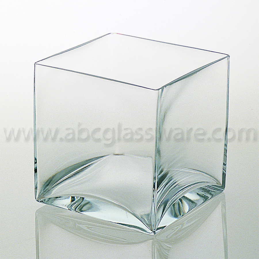 Square vases 10 d2142 set of 2 abc glassware 02 sq this clear square reviewsmspy