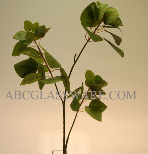 Artificial Leaf Branch 35 Tall In Green Abc Glassware